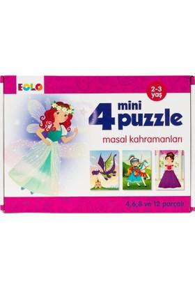 4 Mini Puzzle: Masal Kahramanları