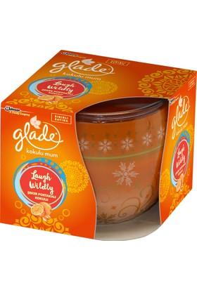 Glade Şeker Portakalı Kokulu Mum - Laugh Wildly