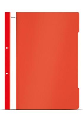 Noki Telli Dosya Xl Kırmızı 50'Li