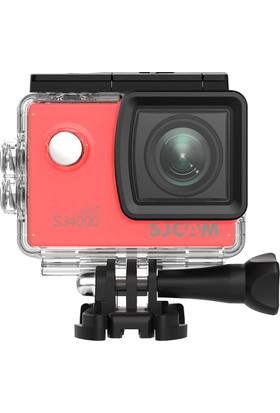 SJCAM SJ4000 Wi-Fi Full HD Aksiyon Kamerası - Kırmızı