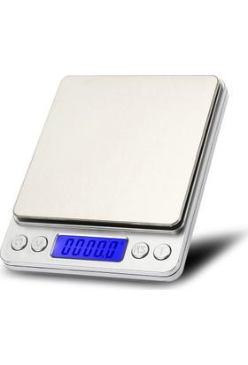 Hodbehod Dijital Elektronik Cep LCD Ekran Taşınabilir Çok Amaçlı Terazi 3000gr 0.1gr