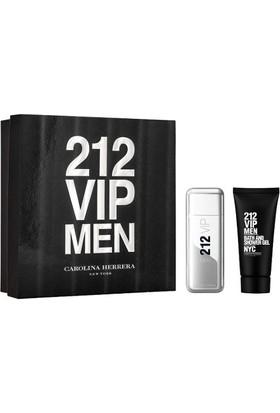 Carolina Herrera 212 Vip Men Edt 100Ml + Duş Jeli 100Ml Set Erkek Parfüm