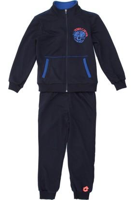 Lotto Marcus V Suit Ft B Çocuk Eşofman Lacivert