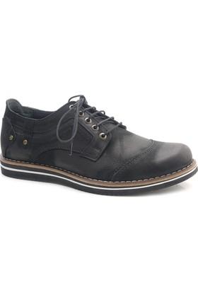 Uskar Club Zz0201 Hakiki Deri Erkek Günlük Ayakkabı