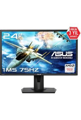 "Asus VG245H 24"" 1ms (Analog+2xHDMI) FreeSYNC Full HD Oyuncu Monitör"