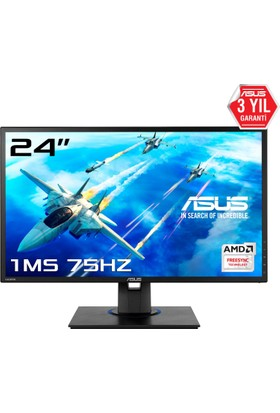 "Asus VG245HE 24"" 1ms (Analog+2xHDMI) FreeSYNC Full HD Oyuncu Monitör"
