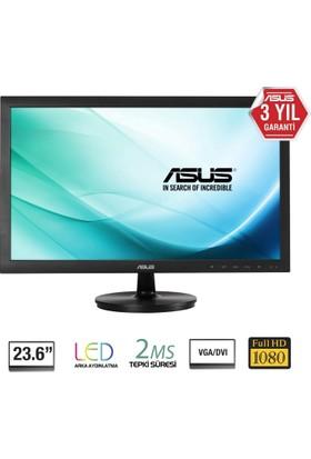 "Asus VS247HR 23.6"" 2ms (Analog+DVI+HDMI) Full HD Led Monitör"