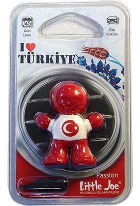 Little Joe Araba Kokusu Passion - Türk Bayraklı