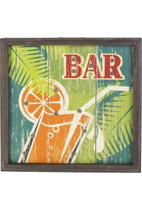 "LoveQ Ledli Pano ""Bar"" 30X30X4 Cm."