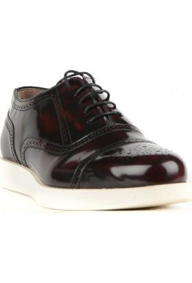 FootCourt Erkek Ayakkabısı Bordo 41