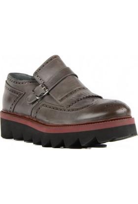 FootCourt Erkek Ayakkabısı Gri 41