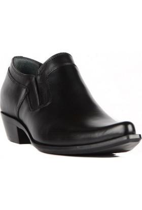 FootCourt Kovboy Ayakkabı Modelleri 18 Siyah 44