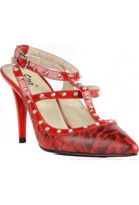 FootCourt Kadın Ayakkabısı Kırmızı 37