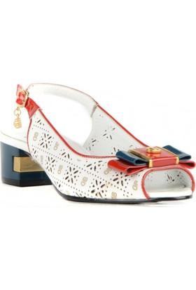 FootCourt Kadın Ayakkabısı Beyaz 37