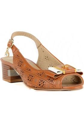 FootCourt Kadın Ayakkabısı Kahverengi 37