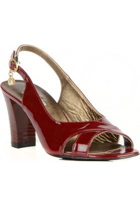 FootCourt Kadın Ayakkabısı Bordo 37