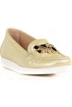 FootCourt Kadın Ayakkabısı Bej 37