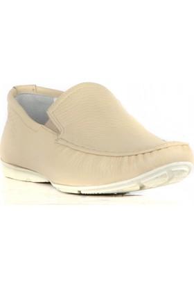 FootCourt Erkek Ayakkabısı Bej 45