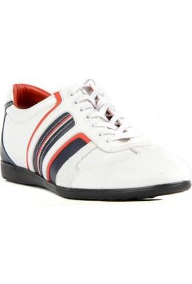 FootCourt Erkek Ayakkabısı Beyaz 41