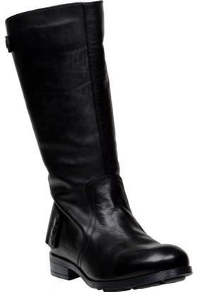 FootCourt Erkek Motorcu Çizmesi Gap Siyah 44