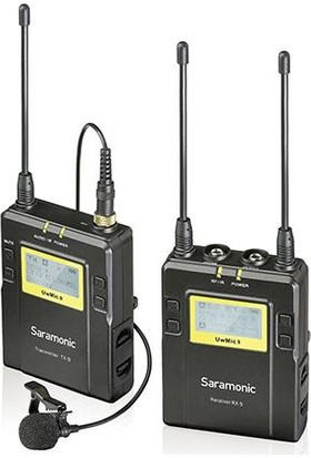 Saramonic UwMic9 (RX9+TX9) Wireless Yaka Mikrofonu