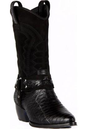 FootCourt Bayan Kovboy Çizmesi Milenyum Siyah 40