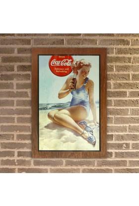 Coca-Cola Ahşap Pano