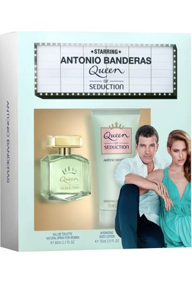 Antonio Banderas Queen Of Seduction Edt 80 Ml + 75 Ml Vücut Losyonu Set