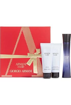 Giorgio Armani Code Femme Edp 75 Ml Kadın Parfüm +75 Ml Vücut Losyonu+75 Ml Duş Jeli Set