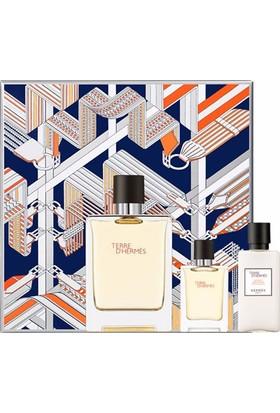 Hermes Terre D'Hermes Edt 100 Ml Erkek Parfüm+ 7.5 Ml + 40 Ml Tıraş Sonrası Losyon Set