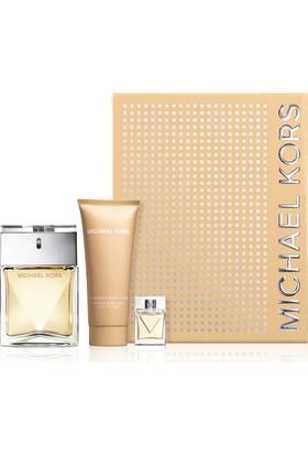 Michael Kors Women Edp 100 Ml Kadın Parfüm+ Edp 10 Ml + 100 Ml Vücut Losyonu Set