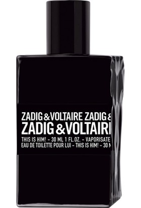 Zadig Voltaire This Is Him Edt 30 Ml Erkek Parfüm