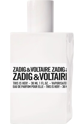Zadig Voltaire This Is Her Edp 30 Ml Kadın Parfüm