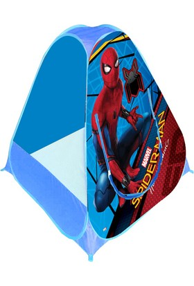 Spiderman Tek Taraflı Pop Up Çadır (Poşetli)