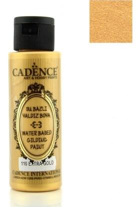 Cadence Extra Gold - Akrilik Ahşap Yaldız Boya 70 ml