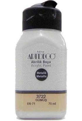 Artdeco Gümüş Metalik Boya 75 ml