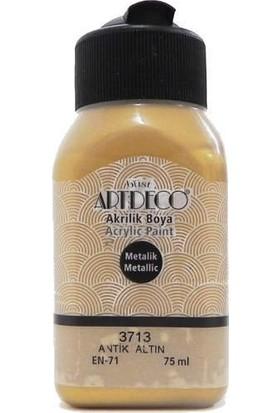 Artdeco Antik Altın Metalik Boya 75 ml