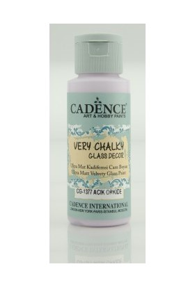 Cadence Açık Orkide - Very Chalky Enamel Cam Seramik Boya 59 ml