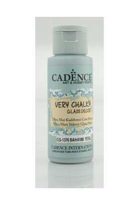 Cadence Bahama Yeşil - Very Chalky Enamel Cam Seramik Boya 59 ml