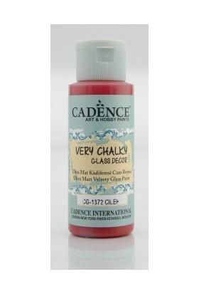 Cadence Çilek Kırmızı - Very Chalky Enamel Cam Seramik Boya 59 ml