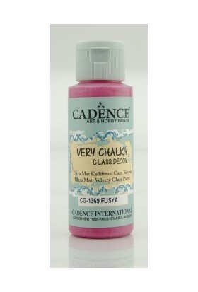 Cadence Fuşya - Very Chalky Enamel Cam Seramik Boya 59 ml