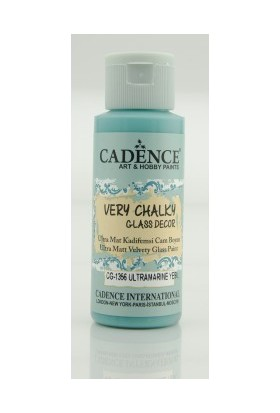 Cadence Ultramarin Yeşil - Very Chalky Enamel Cam Seramik Boya 59 ml