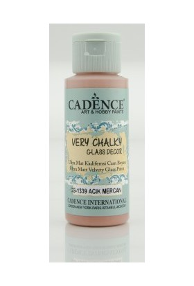 Cadence Açık Mercan - Very Chalky Enamel Cam Seramik Boya 59 ml