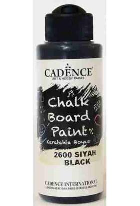 Cadence Siyah Karatahta Boyası 120 ml