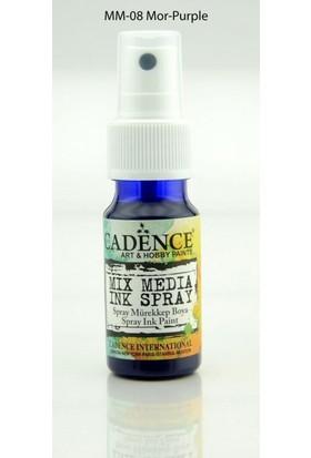 Cadence Mor - Mix Media İnk Sprey Mürekkep Boya 25 ml