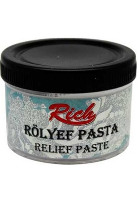 Rich Klasik Rölyef Pasta Beyaz 270 gr