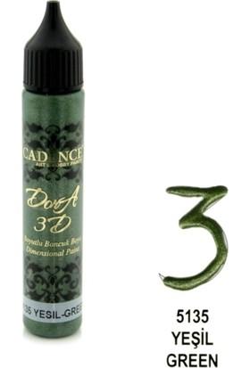 Cadence Yeşil - 3D Boyutlu Boncuk Boya 25 ml