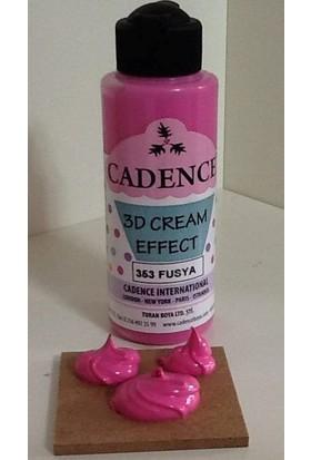 Cadence Fuşya - Krema Efekti Cream Effect 120 ml