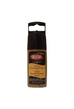 Rich Altın Simli Boyutlu Boncuk Boya 30 ml