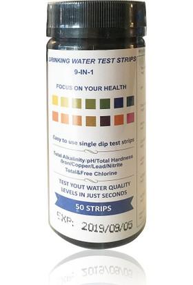 D-Lab Su Analiz Test Kağıdı 9 Parametre